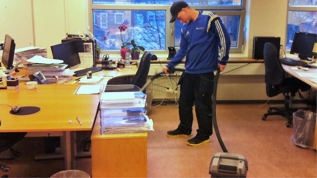 Erhvervsrengøring sikrer at dine kontorer er helt rene